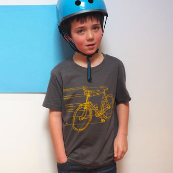 Boys Cycling T Shirt