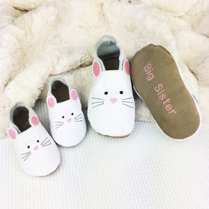 Sibling Set Sister Mouse Slippers