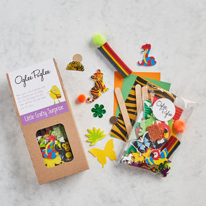 Jungle Craft Party Bags