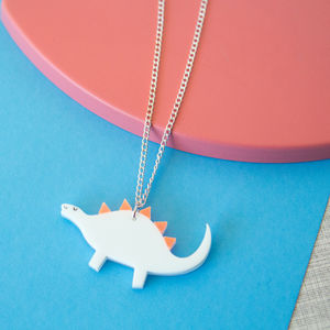 Acrylic Dinosaur Sweet Thing Necklace - children's jewellery
