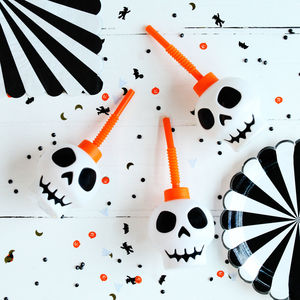 Halloween Skull Sippy Cup - party decorations