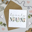 'Lovely Mum' Birthday Card