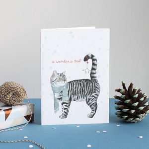 'A Winter's Tail' Christmas Card - new in christmas
