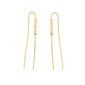 Mini Vincent Chain Thread Through Earrings