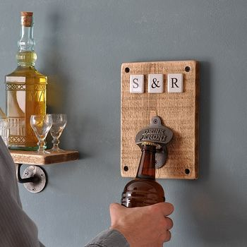 Personalised Ceramic Bottle Opener