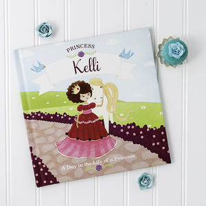 Personalised Princess Story Book - gifts for children