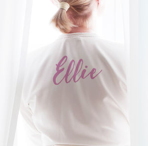 Personalised Kimono Robe / Dressing Gown - lounge & activewear