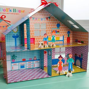 Make Your Own Dolls House - toys & games