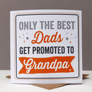 Best Grandad Card