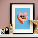 No Sleep Club Print