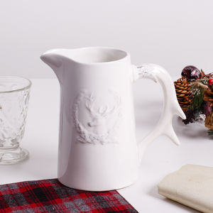 Ceramic Antler Jug - jugs & bottles