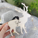 Reindeer Wooden Hanging Decoration