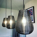 Industrial Wire Pendant Light