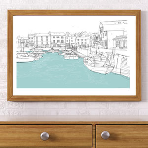 Padstow Signed Print - posters & prints