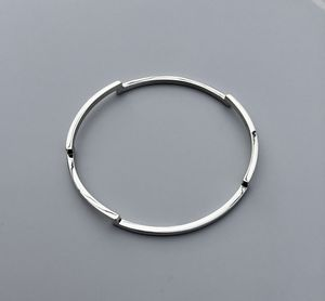Five Step Silver Bangle - bracelets & bangles