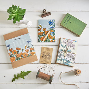 Floral Sentiments Writing Set - notelets & writing paper
