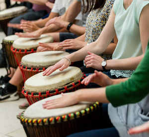 African Drumming Workshop For Two - gifts for teenage boys