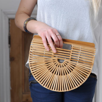 Bamboo Traditional Japanese Bag