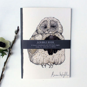 Anna Wright Owlie Notebook