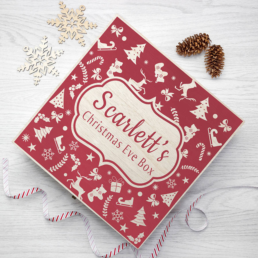 Christmas eve goodie box by letteroom notonthehighstreet