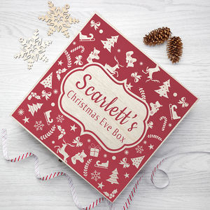 Christmas Eve Goodie Box - christmas home accessories