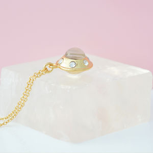 Gold Ufo Necklace - necklaces & pendants