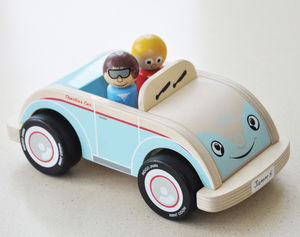 Quality Childrens Toy 60s Style Car - traditional toys & games