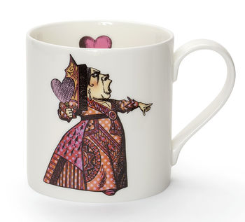 Red Queen Fine Bone China Mug