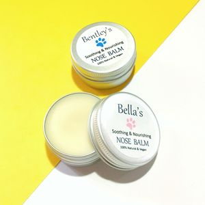 Personalised Soothing Nose Balm For Dogs