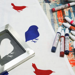 Screen Printing Craft Kit