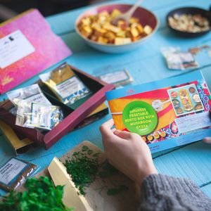 Three Month Meatfree Magic Recipe Kit Subscription