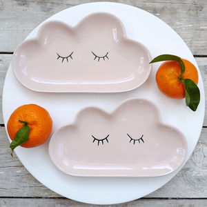 Cloud Stoneware Plate - new in home