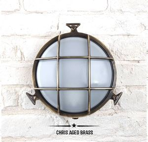 Chris Round Bulkhead Lights For Indoors Or Outdoors - lights & lanterns