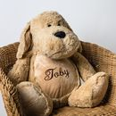 Personalised Soft Toy, Dog