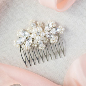 Honour Bridesmaids Bridal Hair Comb - wedding fashion
