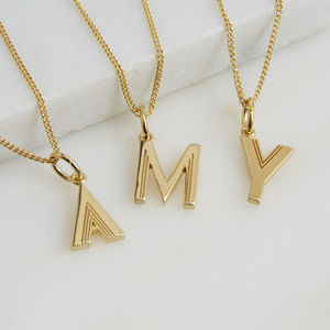 Initial Necklace - jewellery gifts for friends