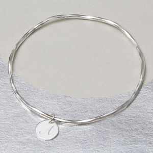 Create Your Own Amelie Personalised Charm Bangle - wedding jewellery