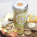 Personalised Be Happy Motivation Set