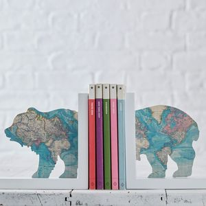 Explorer Bear Bookends - more