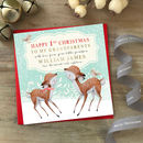 To My Grandparents/Grandparent 1st Christmas Card|Deers