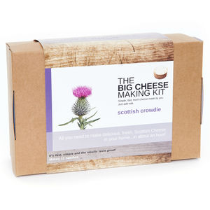 Make Your Own Scottish Crowdie Cheese Making Kit - food gifts