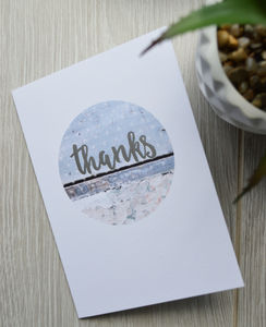 *New* Thanks Card
