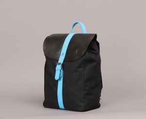 Canvas Backpack With A Flash Of Colour - gifts for him