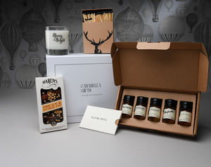 Whiskey Tasting And Treats Hamper - drinks hampers