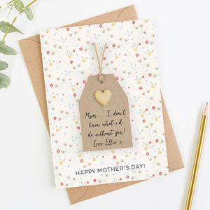 Personalised Mothers Day Card - what's new