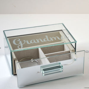 Personalised Glamorous Jewellery Box