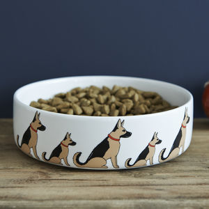 German Shepherd Dog Bowl - pets sale
