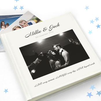 Wedding Photo Album And Guest Book