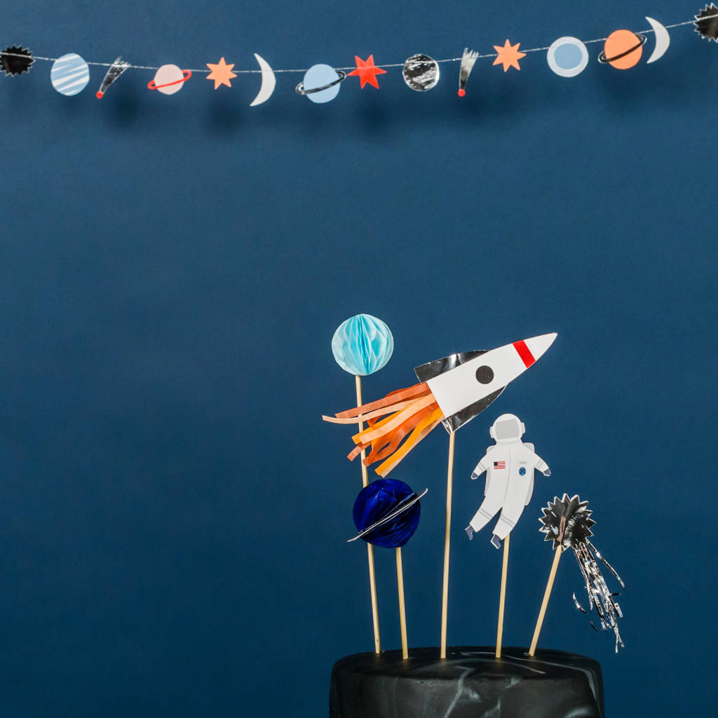 space cake topper by little lulubel | notonthehighstreet.com