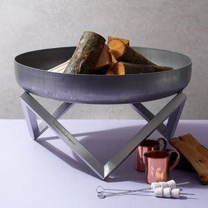 Personalised Yanartas Steel Fire Pit - gifts for couples